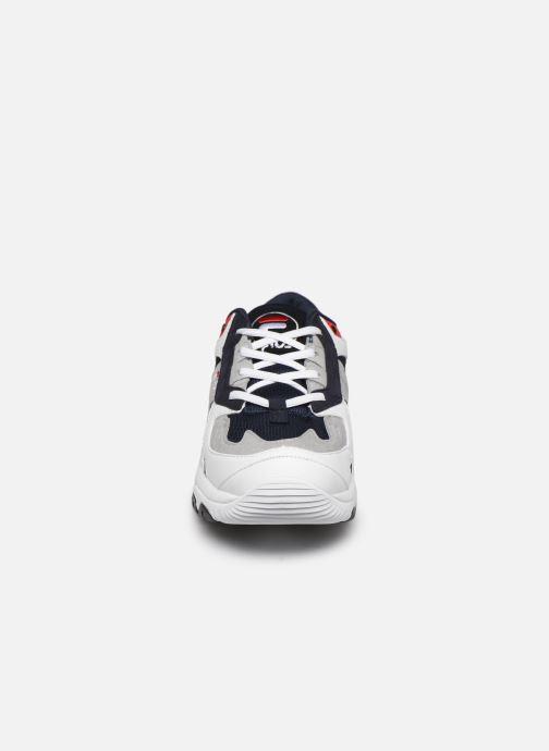 Baskets FILA Select Low Bleu vue portées chaussures