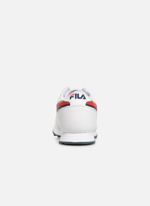 Baskets FILA Orbit F Low Blanc vue droite