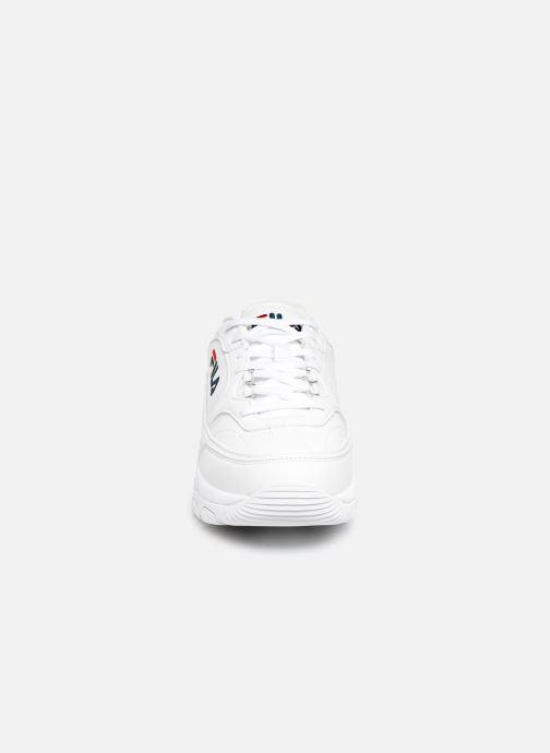Baskets FILA Scelta Low Blanc vue portées chaussures