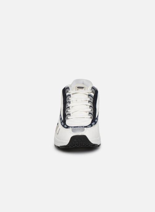 Baskets FILA Dstr97 L Blanc vue portées chaussures