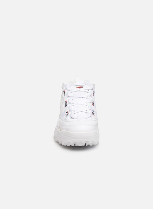 Baskets FILA D-Formation Blanc vue portées chaussures