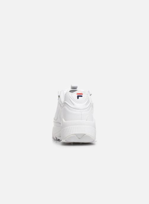 Baskets FILA D-Formation Blanc vue droite