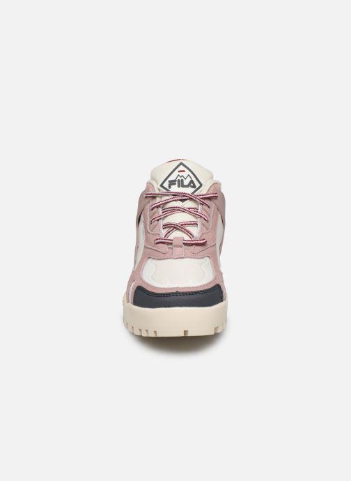 Baskets FILA Trailstep Wmn Rose vue portées chaussures