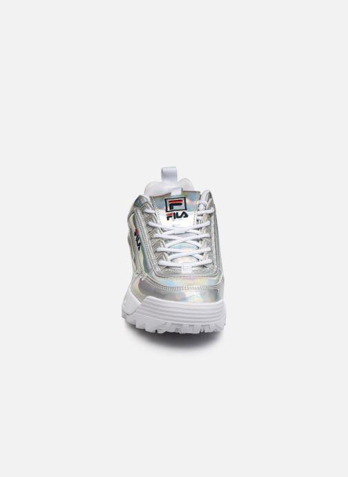 Baskets FILA Disruptor M Low Wmn Argent vue portées chaussures