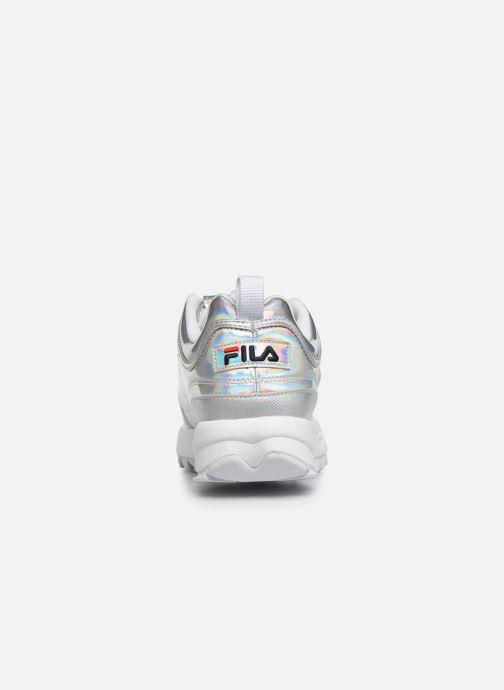 Baskets FILA Disruptor M Low Wmn Argent vue droite