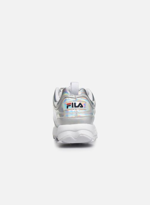 Sneaker FILA Disruptor M Low Wmn silber ansicht von rechts