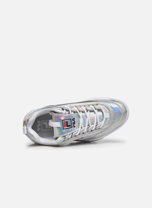 Sneaker FILA Disruptor M Low Wmn silber ansicht von links