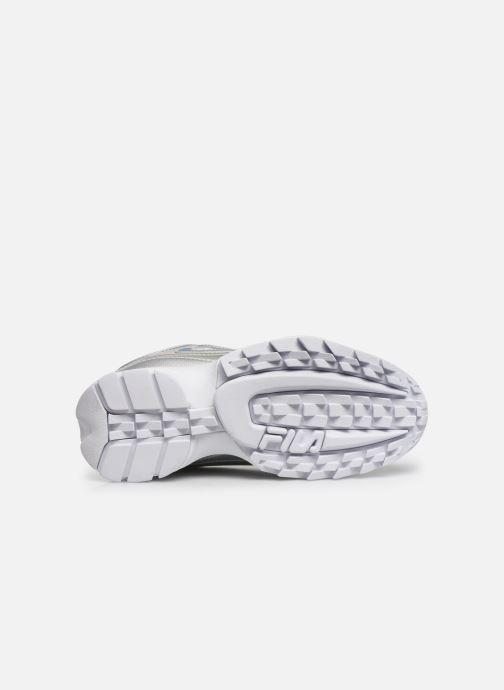 Sneaker FILA Disruptor M Low Wmn silber ansicht von oben