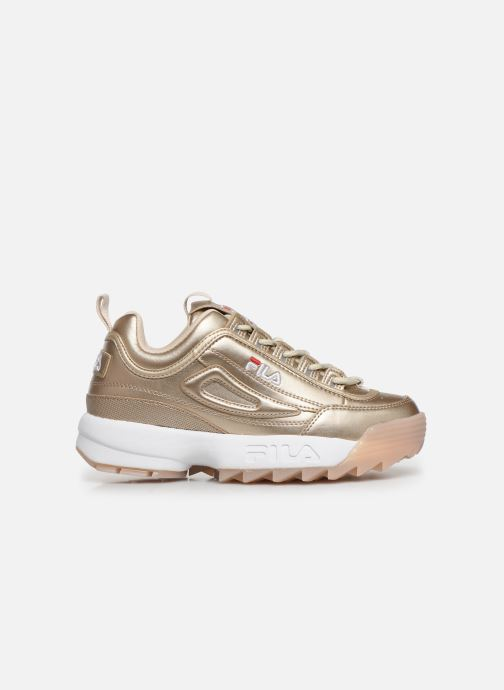 Baskets FILA Disruptor M Low Wmn Or et bronze vue derrière