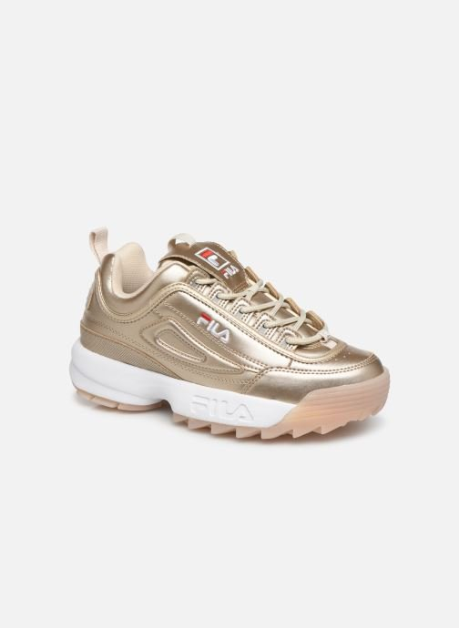 Baskets FILA Disruptor M Low Wmn Or et bronze vue détail/paire