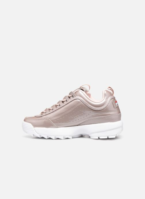 Baskets FILA Disruptor M Low Wmn Rose vue face