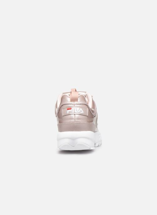 Baskets FILA Disruptor M Low Wmn Rose vue droite