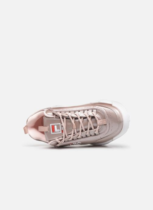 Baskets FILA Disruptor M Low Wmn Rose vue gauche