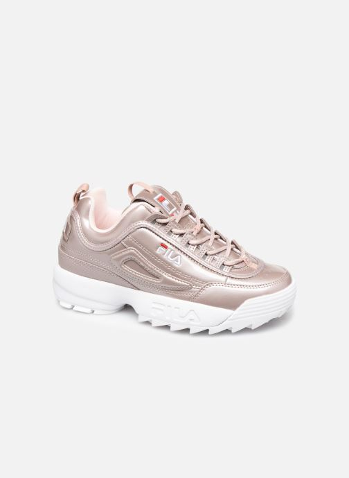 Baskets FILA Disruptor M Low Wmn Rose vue détail/paire