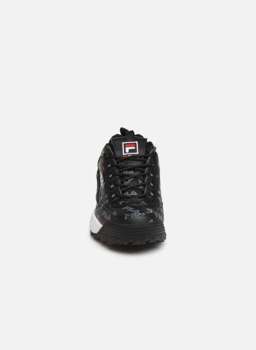 Baskets FILA Disruptor Logo Low Wmn Noir vue portées chaussures
