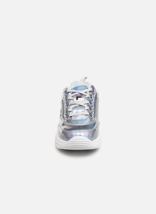 Baskets FILA Strada M Low Wmn Argent vue portées chaussures