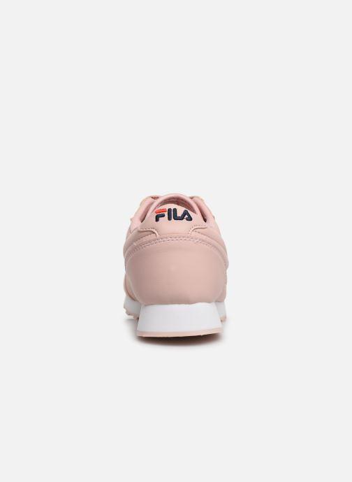 Baskets FILA Orbit Low Wmn Rose vue droite