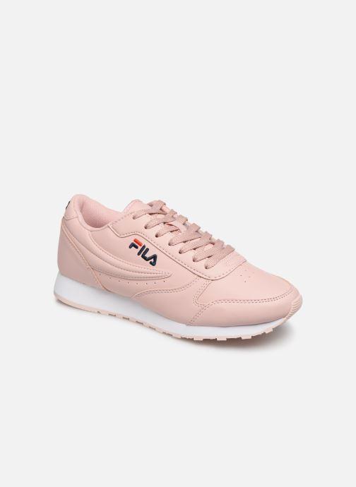 Sneakers FILA Orbit Low Wmn Pink detaljeret billede af skoene