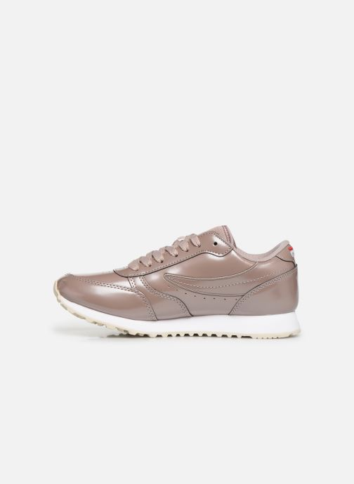 Baskets FILA Orbit F Low Wmn Rose vue face