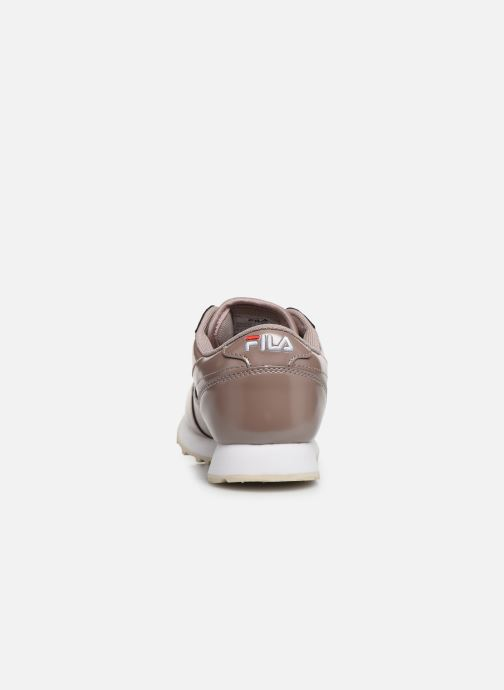 Baskets FILA Orbit F Low Wmn Rose vue droite