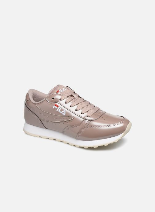 Baskets FILA Orbit F Low Wmn Rose vue détail/paire