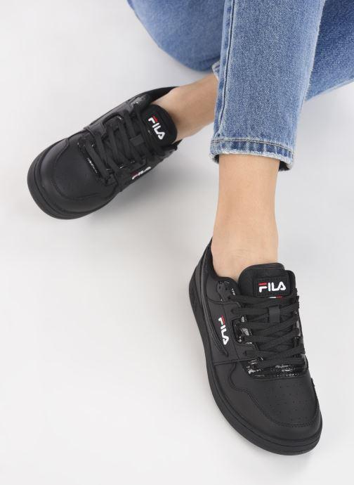 Sneaker FILA Arcade F Low Wmn schwarz ansicht von unten / tasche getragen