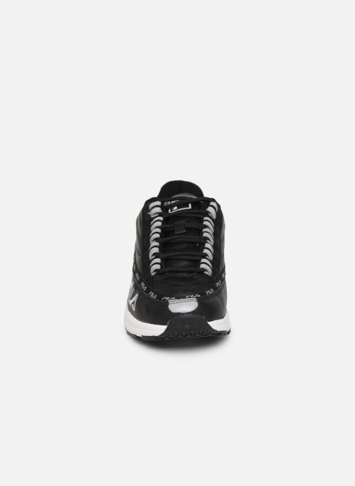 Baskets FILA Dstr97 L Wmn Noir vue portées chaussures