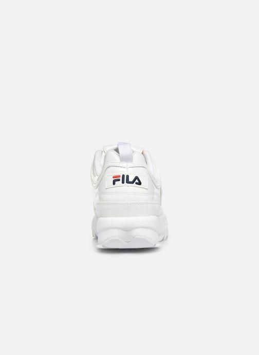 Deportivas FILA Disruptor P Low Wmn Blanco vista lateral derecha