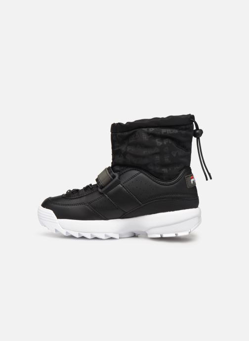 Baskets FILA Disrupter Neve Mid Wmn Noir vue face