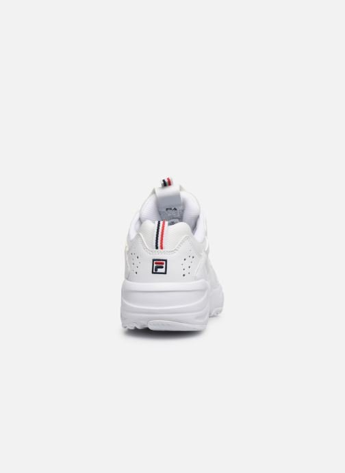 Baskets FILA Ray Tracer Wmn Blanc vue droite