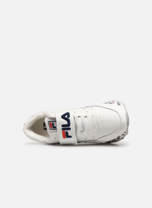 Trainers FILA Orbit Zeppa Strap Wmn White view from the left