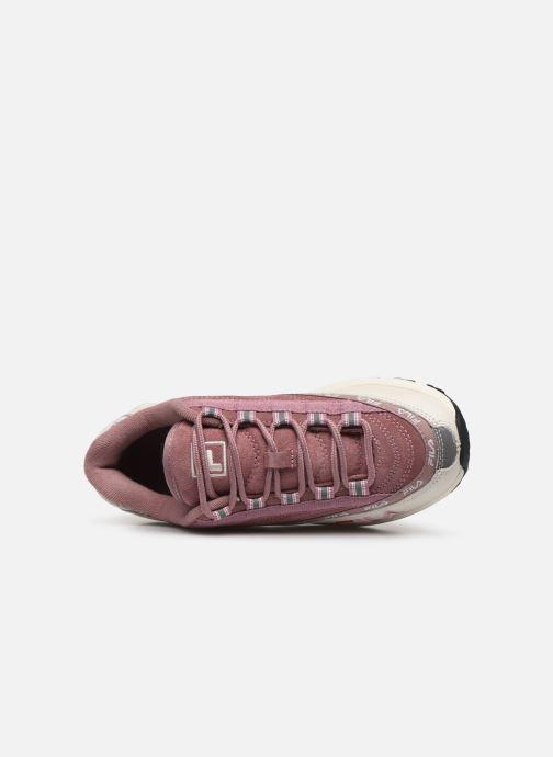 Sneakers FILA Dstr97 S Wmn Rosa immagine sinistra