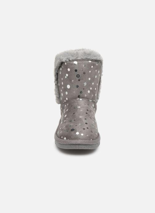 Stiefel Chicco Corvara grau schuhe getragen