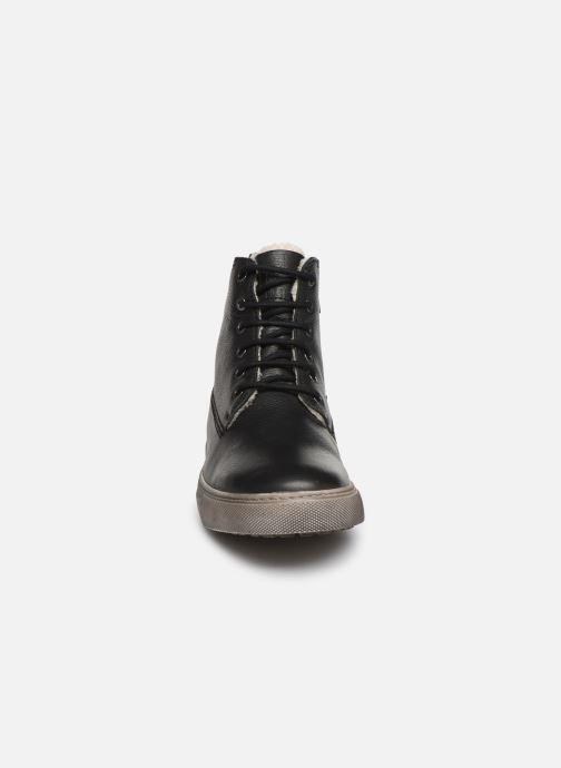 Sneakers I Love Shoes THALIN LEATHER Nero modello indossato