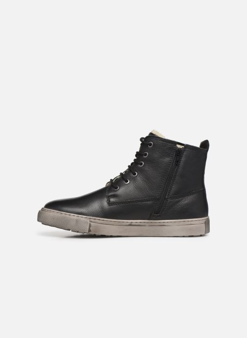 Trainers I Love Shoes THALIN LEATHER Black front view