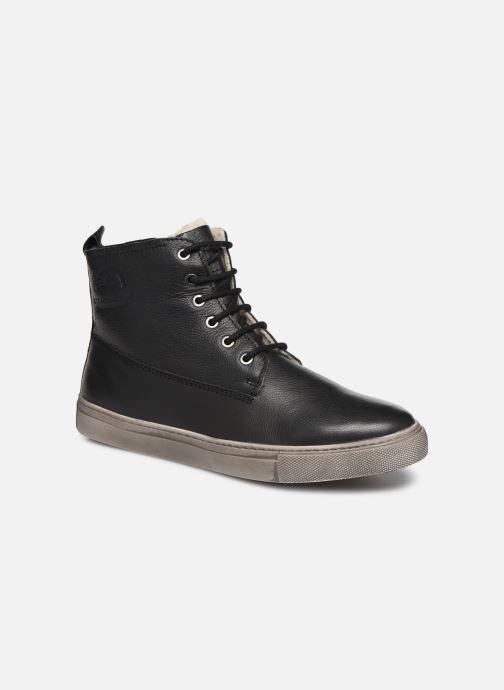 Deportivas I Love Shoes THALIN LEATHER Negro vista de detalle / par