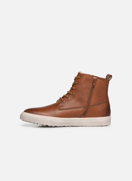 Sneaker I Love Shoes THALIN LEATHER braun ansicht von vorne