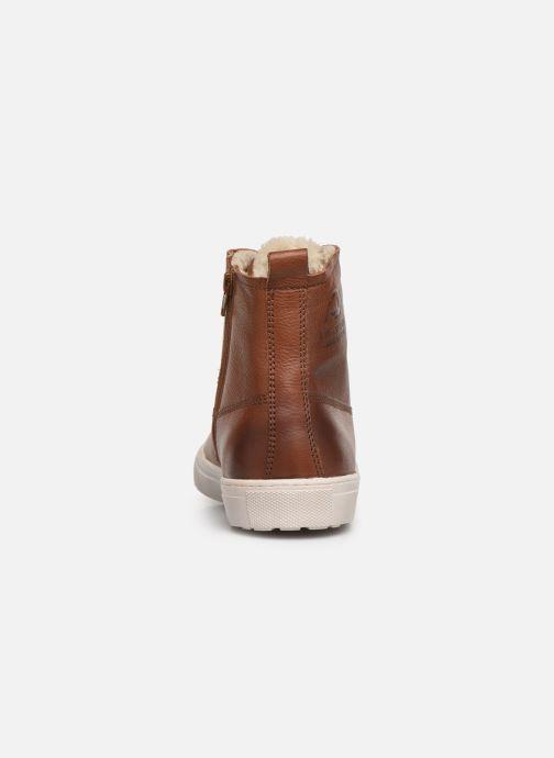 Sneaker I Love Shoes THALIN LEATHER braun ansicht von rechts