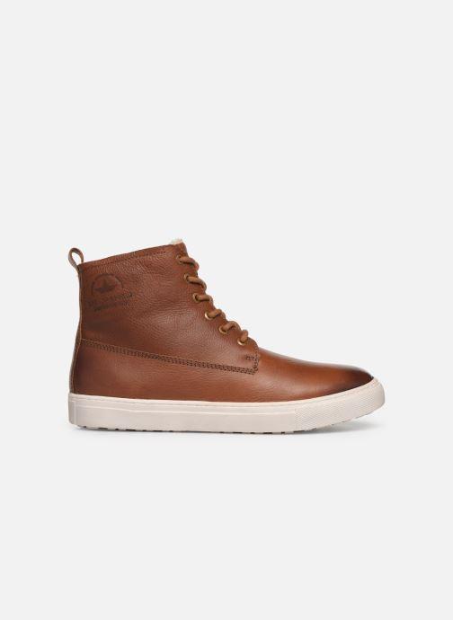 Sneaker I Love Shoes THALIN LEATHER braun ansicht von hinten