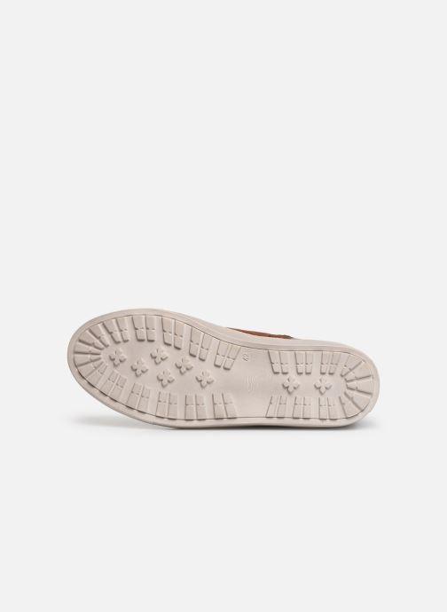 Sneaker I Love Shoes THALIN LEATHER braun ansicht von oben