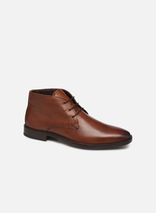 Ankle boots I Love Shoes THILIHAUT LEATHER Brown detailed view/ Pair view