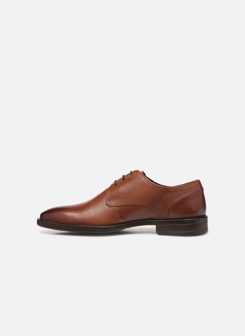 Scarpe con lacci I Love Shoes THILIBAS LEATHER Marrone immagine frontale
