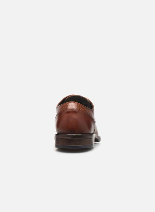 Scarpe con lacci I Love Shoes THILIBAS LEATHER Marrone immagine destra