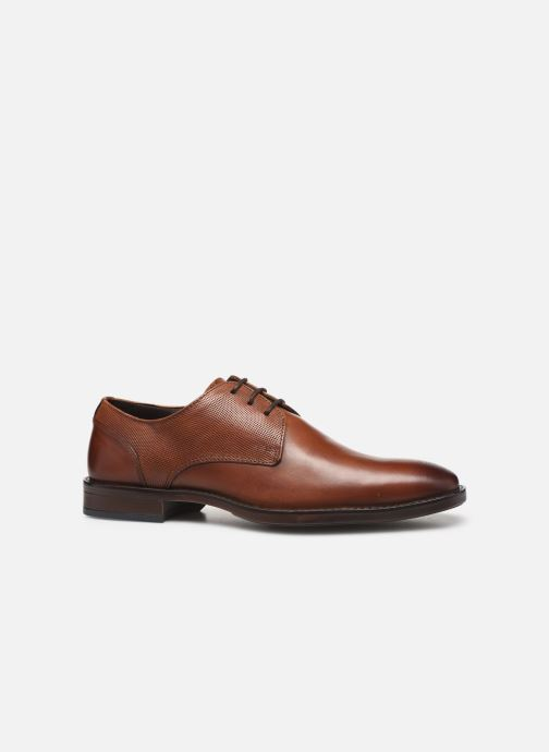Lace-up shoes I Love Shoes THILIBAS LEATHER Brown back view