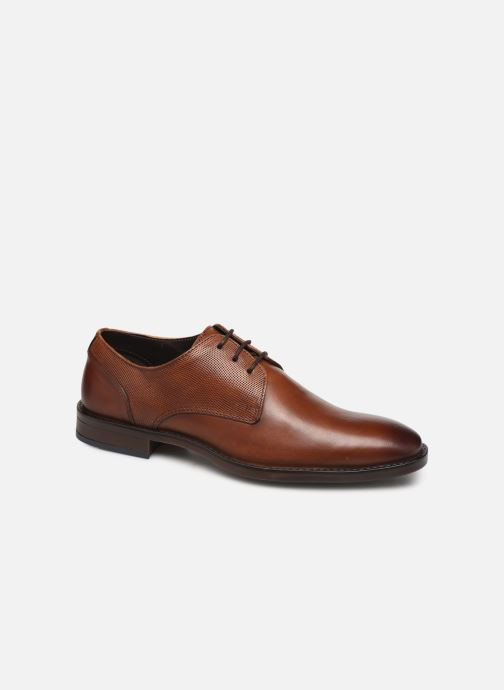 Lace-up shoes I Love Shoes THILIBAS LEATHER Brown detailed view/ Pair view