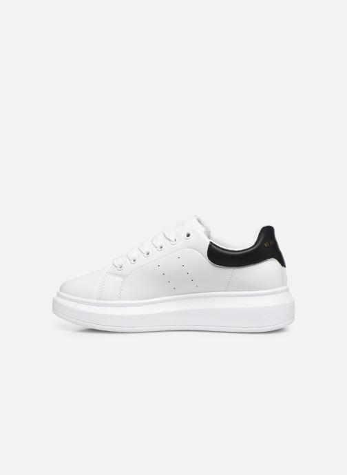 Baskets I Love Shoes THIQUEEN Blanc vue face