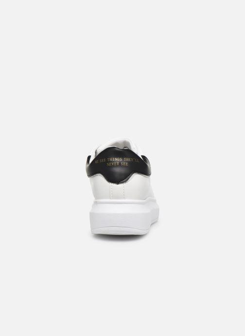Baskets I Love Shoes THIQUEEN Blanc vue droite