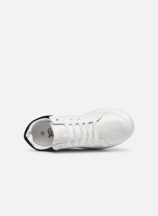 Baskets I Love Shoes THIQUEEN Blanc vue gauche