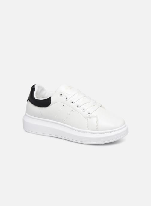 Baskets I Love Shoes THIQUEEN Blanc vue détail/paire
