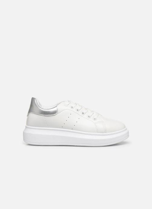 Baskets I Love Shoes THIQUEEN Blanc vue derrière